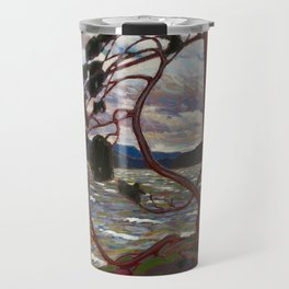 Tom Thomson - The West Wind - Canada, Canadian Oil Painting - Group of Seven Travel Mug