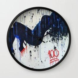 """""""keepin it 100"""" Wall Clock"""