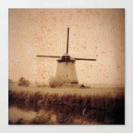 Vintage Mill Canvas Print