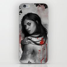 Bad blood iPhone & iPod Skin