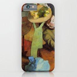 Edgar Germain Hilaire Degas 011 By Edgar Degas   Reproduction   Famous French Painter iPhone Case