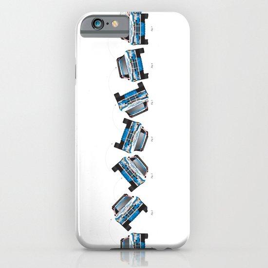 Ari Vatanen-Bruno Berglund, 1989 Paris Dakar crash sequence iPhone & iPod Case
