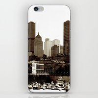 montreal iPhone & iPod Skins featuring of montreal by Jaina Tharakan