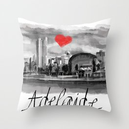 I love Adelaide Throw Pillow