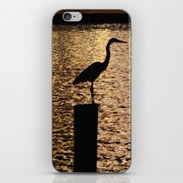 Heron Silouette iPhone Skin