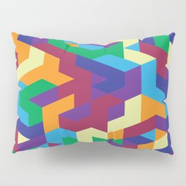 Abstract Isometric #1 Pillow Sham