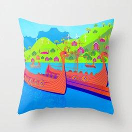 Norway 12 Throw Pillow