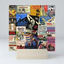 Agatha Christie Mini Art Print