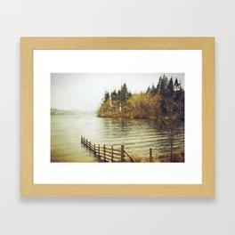 Lakeside Sojourn Framed Art Print