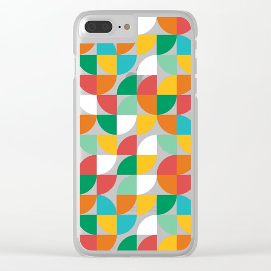 Pie in the sky Clear iPhone Case