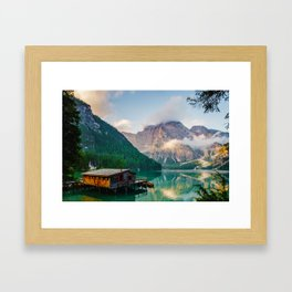 The Place To Be III Framed Art Print