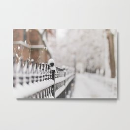 Winter in Chicago Metal Print