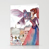 guardians Stationery Cards featuring Guardians by Ghie
