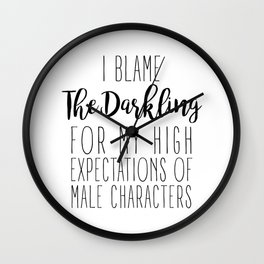 High Expectations - The Darkling Wall Clock