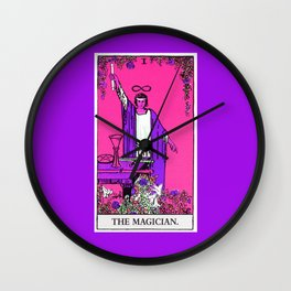 1. The Magician- Neon Dreams Tarot Wall Clock