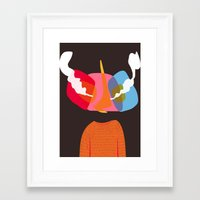 bug Framed Art Prints featuring Bug. by Iain McGregor