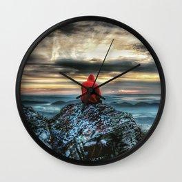 Sunrise Kid Wall Clock
