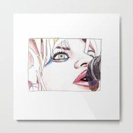 Courtney Love Metal Print