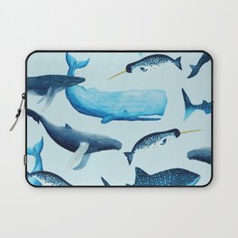 Creatures of the Seas Laptop Sleeve