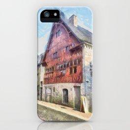Durbuy - La Halle aux Blés iPhone Case