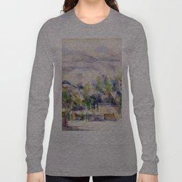 1902 - Paul Cezanne - Mont Sainte-Victoire Long Sleeve T-shirt