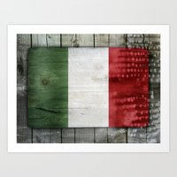 italy Art Prints featuring Italy by Arken25