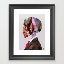 Red Tie Framed Art Print