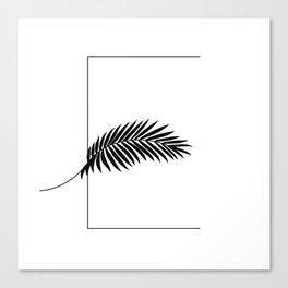 Palm E Canvas Print