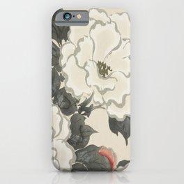 Japanese Kanagawa style painting (Kanagawa oki nami) iPhone Case