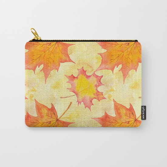Autumn leaves #15 Carry-All Pouch