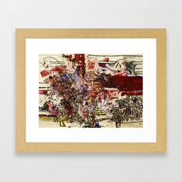 Boom For Real Framed Art Print