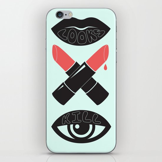 LOOKS KILL iPhone & iPod Skin