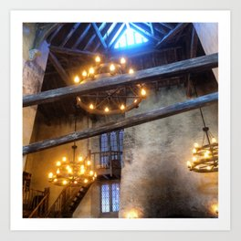 Leaky Cauldron Art Print