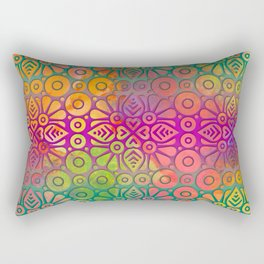 DP050-2 Colorful Moroccan pattern Rectangular Pillow