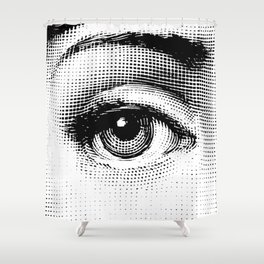 Lina Cavalieri Eye 01 Shower Curtain