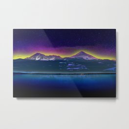 Twin Peaks - Scenic Wall Art Metal Print