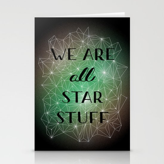Star Stuff Stationery Cards