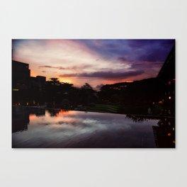 7PM Canvas Print
