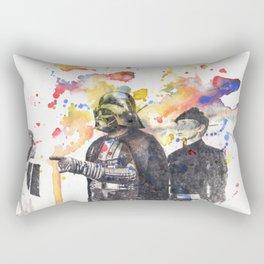 Darth Vader Pointing Leia Star Wars Movie Scene Rectangular Pillow
