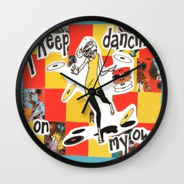 Dancin' Own My Own Wall Clock