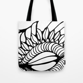 Shell of Abstract Tote Bag