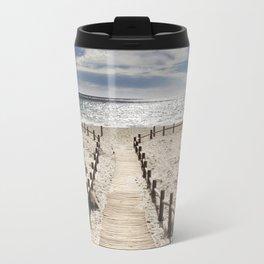 """""""Cabo de Gata"""". Square.  Retro serie Travel Mug"""