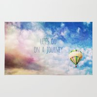 journey Area & Throw Rugs featuring Journey by Mareike Böhmer Photography
