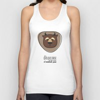 beauty and the beast Tank Tops featuring Beauty and the Beast by Jane Mathieu