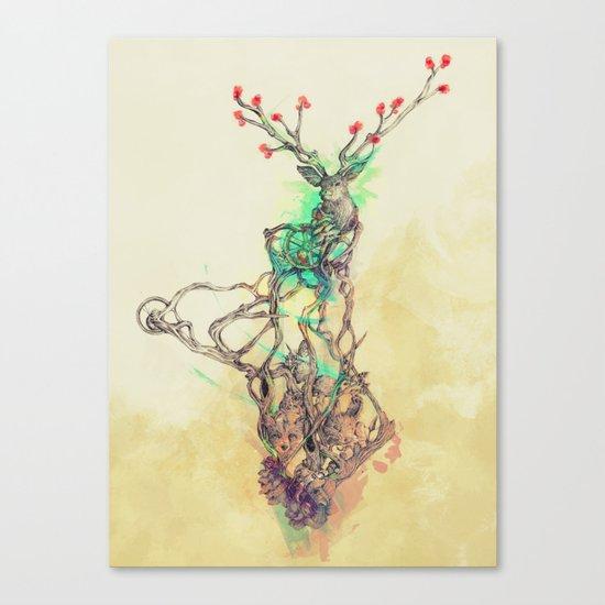 Woodland Spirit Canvas Print