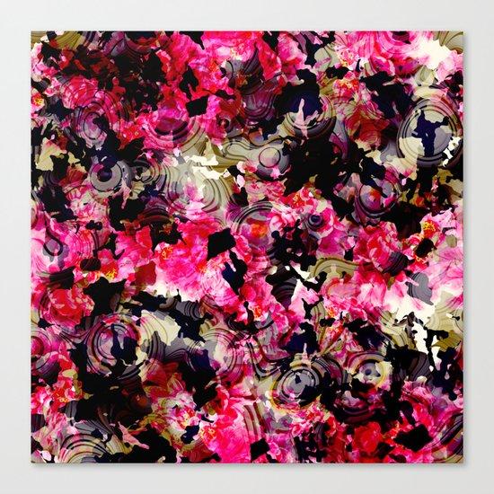 Fashion Textile Pattern Canvas Print