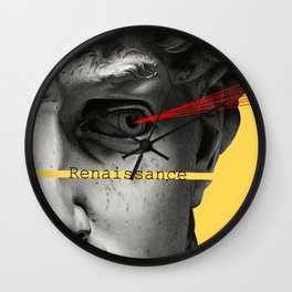 David's Renaissance Wall Clock