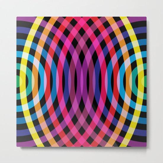 Ripple pattern Metal Print