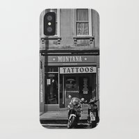 montana iPhone & iPod Cases featuring Montana Tattoos by Melissa Batchelder Photography