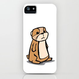 Pensive Gopher iPhone Case